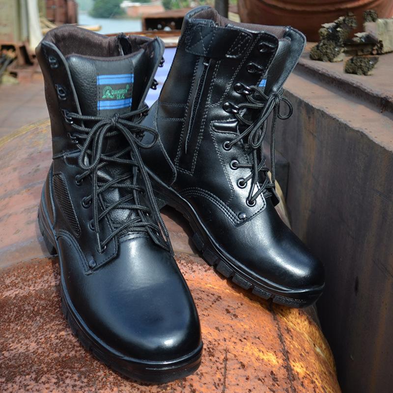20180321063557941 时尚男士高帮军靴男马丁靴防暴靴J-129Ai新 单靴 发货周期:一般在付款后2-90天左右发货,具体发货时间请以与客服协商的时间为准