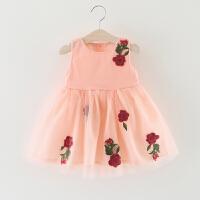 女童连衣裙夏季儿童背心裙0一1-3周岁小童女宝宝夏装公主裙子