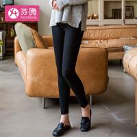 【狂欢不打烊 折扣价:49元】芬腾 睡衣女19年新品针织贴身时尚简约打底裤女士长裤