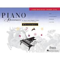 英文原版 菲伯尔钢琴基础教程(初级):圣诞曲集 Piano Adventures: Primer Level: Chr