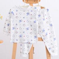 婴儿保暖内衣套装儿童睡衣棉毛衫宝宝春秋季男女