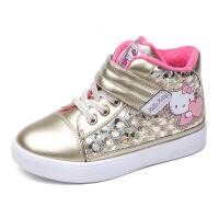 hello kitty童鞋女童运动鞋秋冬季新款加绒保暖儿童棉鞋学生K6463DD574