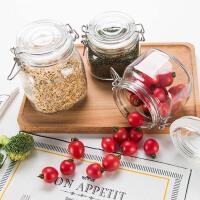 卡扣玻璃密封罐储物罐泡菜坛子套装百香果蜂蜜瓶子玻璃罐