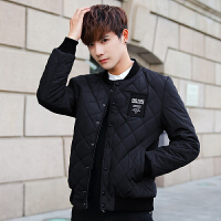 新款冬季棉衣男韩版青年加厚修身男短款潮流冬装男士棉袄外套