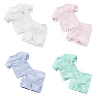 婴儿童装套装春装女宝宝春季0岁7个月婴幼儿夏季薄款满月休闲长袖