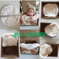 新生儿摄影造型垫 婴儿拍照道具 宝宝拍摄垫子 儿童辅助婴儿毯子