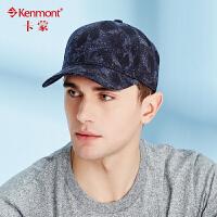 kenmont帽子男棒球帽夏天防晒太阳帽韩版潮休闲印花鸭舌帽遮阳帽3375