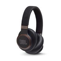 JBL LIVE 650BTNC 主动降噪耳机 智能语音AI无线蓝牙耳机/耳麦 头戴式 有线手机通话游戏耳机 黑色
