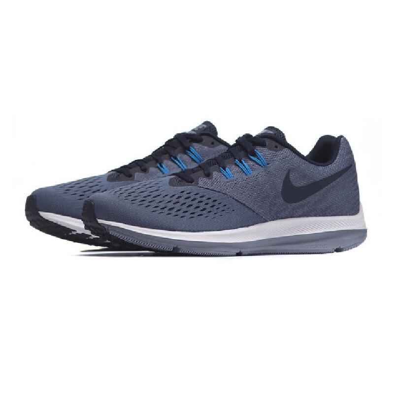 NIKE耐克男鞋跑步鞋2018ZOOM网面气垫透气轻便运动鞋880555满300减30