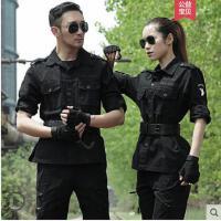 军迷套装特种兵迷彩服男女 长袖耐磨修身户外作训作战服军装
