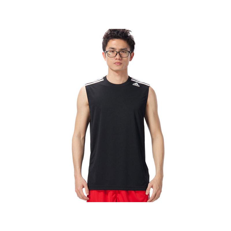 adidas阿迪达斯男子背心2018新款无袖篮球训练运动服F84546 活力出游!满199-10!满300-40!满600-80!