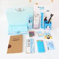 20180705153227014韩国文具套装礼盒学生奖品礼品生日礼物儿童男女生学习开学