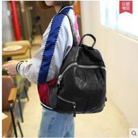 新款包包背包女双肩韩 双肩包女韩版学院风时尚休闲女包书包 可礼品卡支付