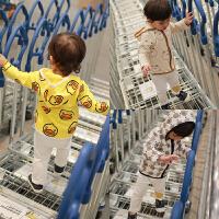婴童装男宝宝春装女童外套装婴儿卫衣服01岁春秋