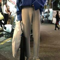 秋冬新款 特殊复合材质不规则休闲运动卫裤男