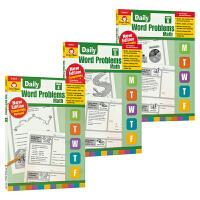 Evan Moor Daily Word Problems Math G4-6 每日一练应用题练习册 小学4-6年级数