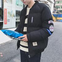 冬季棉衣男士韩版短款面包服学生青年棉袄子加厚外套男装潮流