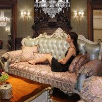 冬季欧式沙发垫四季通用布艺防滑简约现代全包真皮沙发套罩巾