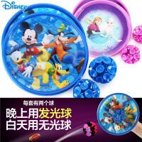 迪士尼儿童吸盘球抛接球宝宝吸盘玩具球粘粘球小孩运动户外玩具