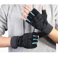 户外运动健身手套男士半指透气防滑杠铃哑铃单杠护手掌健身手套