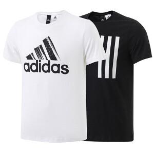 adidas阿迪达斯男装短袖T恤2017新款运动服BK2806