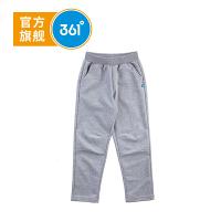 【到手价:49.8】361° 361度童装 男童裤子男童针织长裤春季儿童裤子K51812553