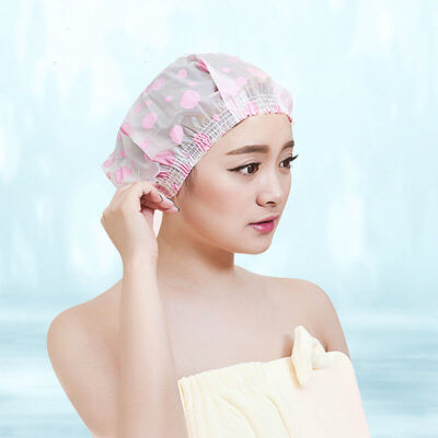 日本加厚浴帽干发帽防水洗澡浴帽女款儿童通用颜色随机