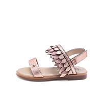 童鞋女童凉鞋2020新款时尚公主鞋女大童软底宝宝沙滩鞋