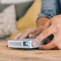 【新品首发】飞利浦便携式掌上迷你微型投影仪家用高清1080P wifi无线手机投影机安卓苹果无线同屏PPX5110CN