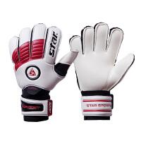 Star世达 手套 专业守门员手套SG340 门将手套 4MM乳胶 红色
