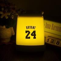 20180404013101233运动配饰篮球湖人科比詹姆斯库里球衣号周边生日礼物品创意个性台灯小夜灯