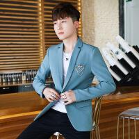 西服套装男韩版休闲新郎装时尚小西装伴郎男士礼服学生正装三件套