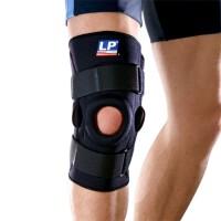 LP欧比护膝 双枢纽式钢片膝关节护具710 髌骨加压护膝膝盖支撑型 单只