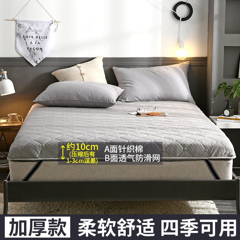 榻榻米床垫子1.8m床2米双人单海绵垫席梦思1.2学生宿舍1.5m床褥子   舒适透气、软硬适中、两面都实用