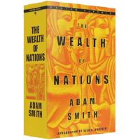 The Wealth of Nation 国富论 进口英文原版 亚当斯密经济巨人的理性之作 西方经济学启蒙读物