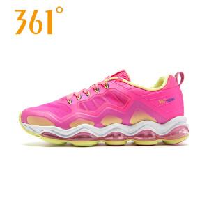 【每满100减50】361度女鞋正品跑步鞋夏季新款361运动鞋气垫减震跑鞋女581622202