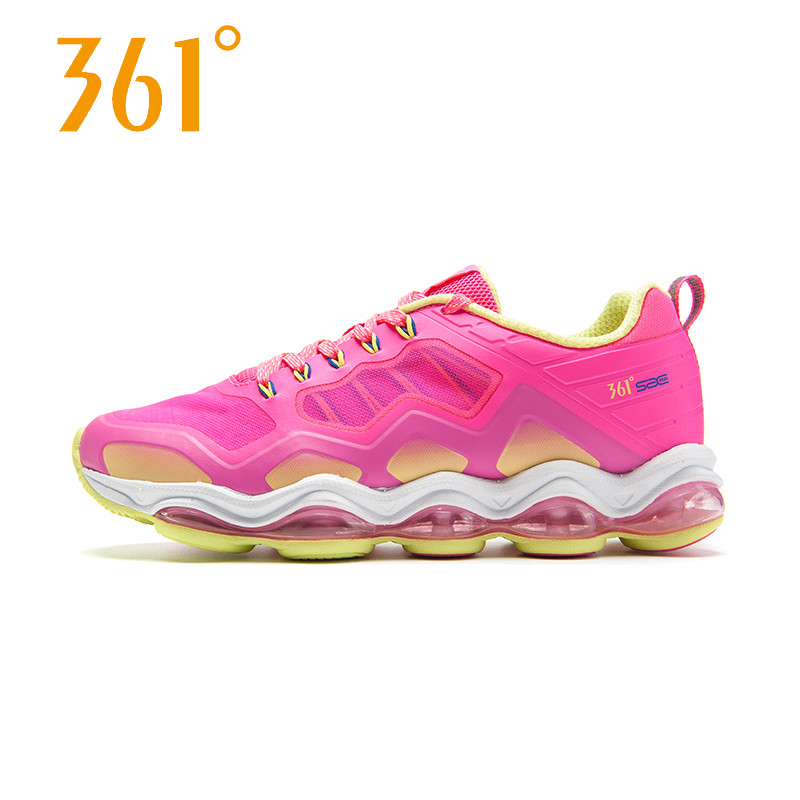 361度女鞋正品跑步鞋夏季新款361运动鞋气垫减震跑鞋女581622202