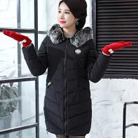 妈妈冬装时髦加厚保暖棉衣中老年女装外套中年冬天棉袄30岁40