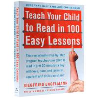 轻松100课 教会孩子阅读英文 英文原版 Teach Your Child to Read in 100 Easy Le