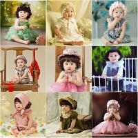 2018新款春季儿童摄影服装韩版影楼拍照服饰百天1岁宝宝照相童装