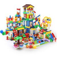 女孩积木玩具拼装大颗粒1-2-4女孩3-6周岁男孩子儿童