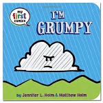 I'm Grumpy 我是坏脾气 英文原版童书 绘本纸板书 儿童漫画书