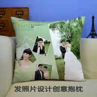 照片写真diy抱枕定制定做创意沙发靠垫靠枕头生日结婚庆礼物