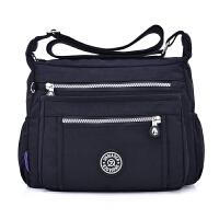 女包布包大容量中老年妈妈包斜挎包防水尼龙牛津布单肩包旅游背包