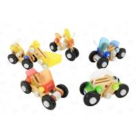 螺母拼装创想车 儿童益智玩具组装拼装组合木制玩具