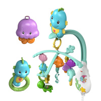 【当当自营】费雪 新生婴儿DFP12小海马旋转床铃0-1岁宝宝哄睡安抚音乐玩具