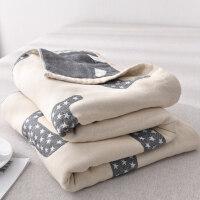 水洗纱布毛巾被纯棉全棉毛巾毯夏季单人双人夏凉毯空调被床单父亲节