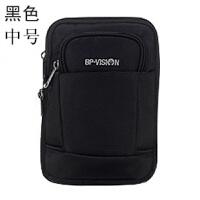 户外运动大容量多功能穿皮带挂包男旅游行手机包单肩斜挎工具腰包