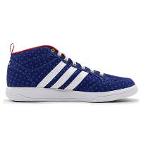 Adidas阿迪达斯网球鞋 男子休闲运动训练鞋透气耐磨中帮板鞋B74384