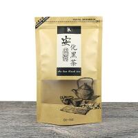 新款湖南安化黑茶包装袋开窗牛皮纸250g散茶茶叶密封口自封袋